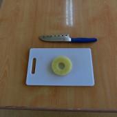包丁とまな板のセットの仕方です。