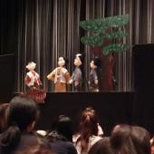 だっこ座の人形劇
