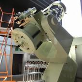 天体望遠鏡。大きいね。