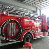 大きな消防車
