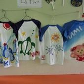 5歳児・・・手作りTシャツ。大好きなもの、季節のものなんでもどうぞ!