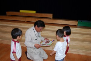 香川さん、ありがとう!! 年少組