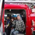 消防車の中ってこんな風になってるんだね!