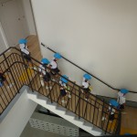 大きくて長い階段!