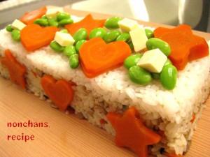 2015のんちゃんずケーキ寿司(パウンド2)