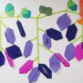 年少 さつまいもの折り紙