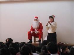 サンタさん登場!