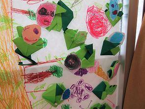青虫の折り紙