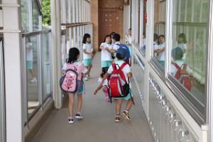 わくわく・ドキドキ、幼稚園に来ました。