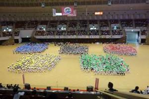 オリンピックの5色の輪
