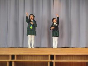アイドルの歌とダンス