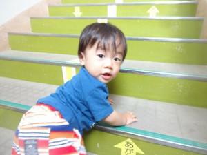 二階にだって行けるよ!