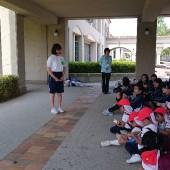 高校生の代表者が今日一緒に過ごせて楽しかったと言ってくださいました。