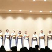 素敵な衣装とパフォーマンスも楽しい演出ばかりでした。 みなさんの歌声にうっとりの会でした。