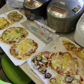 クラシルに投稿?ランチで残った素麺でピザを作りました。先生方の夜食。