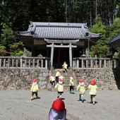 波豆川神社へお参りに