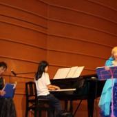 一番緊張したのはピアノ伴奏の先生かな?