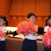 3園の保育園、幼稚園で一緒にダンスもしました