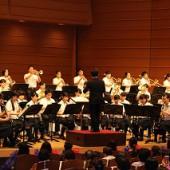 最後は三田学園の吹奏楽でした