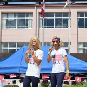 USAに合わせたゲストはジョニーとマイケル
