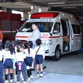 救急車にも乗りました