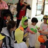 ぽるとこども園の子どもも仮装して遊びにきました。