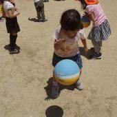ボールを連続でつくことが上手になりました。