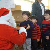 サンタさんも来てくれました!