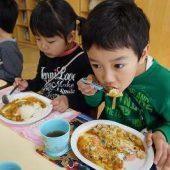 皆で作って、食べるカレーライスは美味しかったです。