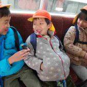 堺駅から天下茶屋まで南海電車に乗り、