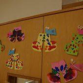 長靴の製作と一緒に飾りました。