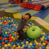 大きなボールプール