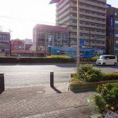 阪堺電車が通りました。
