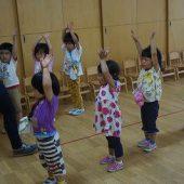 年少組 朝の体操