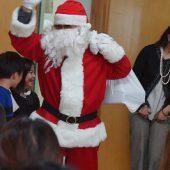 サンタさんも来てくれて