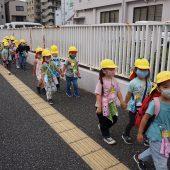 市小学校の近くまで歩くことができました。