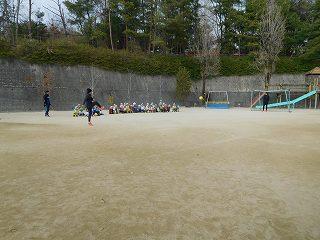 東口選手と倉田選手に、シュートを見せて頂きました! 迫力がありとてもかっこよかったです!