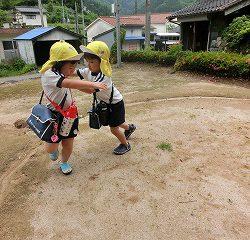 水谷神社には土俵があります!
