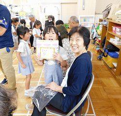 素敵な笑顔に、子ども達も大満足!!