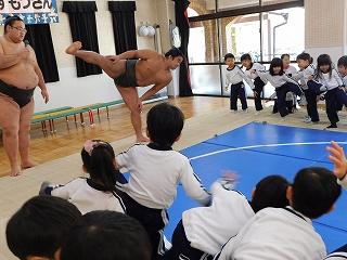「しこ」お相撲さんは1日700回は練習するそうです!