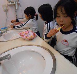 歯磨きタイム♪