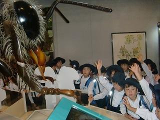 蜂の迫力に子どもたちは大興奮でした♪
