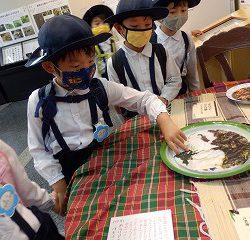 他の国では虫を食べる習慣があり、虫料理が紹介されていました。みんなは信じられずに唖然と見ていました(笑)