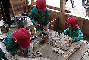 5歳児木工