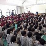 子どもたちも楽しんでくれました(^▽^)