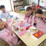 幼稚園生活最後のお弁当☆