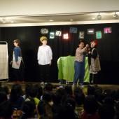 おもしろい劇に園児席からも声が飛び交っていましたね!
