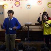 先生の楽しそうな表情が子どもたちに伝わっていました!