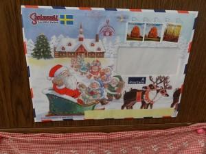 サンタさんから届いた手紙