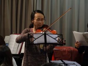美しいバイオリンの響き